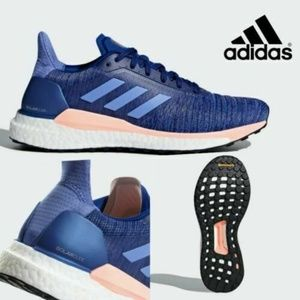 Adidas Womens Boost Solar Glide Running sneakers